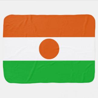 Niger Flag Baby Blanket