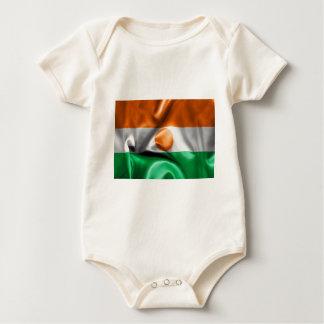 Niger Flag Baby Bodysuit