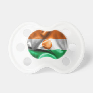 Niger Flag Baby Pacifiers