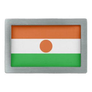 Niger Flag Belt Buckle