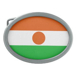 Niger Flag Belt Buckles