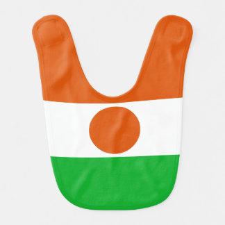 Niger Flag Bib
