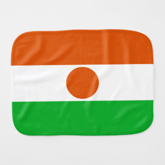 Niger Flag Burp Cloth