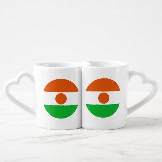 Niger Flag Coffee Mug Set