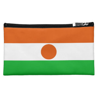 Niger Flag Cosmetic Bag