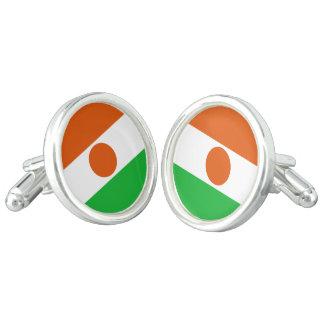 Niger Flag Cufflinks