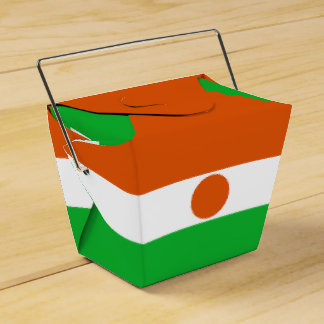 Niger Flag Favour Box