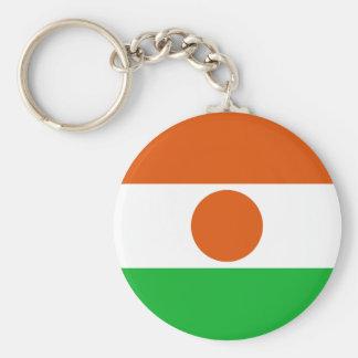 Niger Flag Key Ring