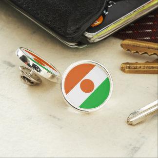 Niger Flag Lapel Pin