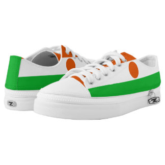 Niger Flag Low Tops