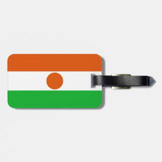 Niger Flag Luggage Tag