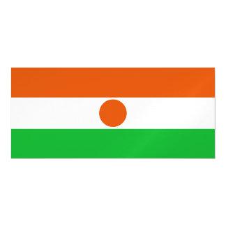 Niger Flag Magnetic Card