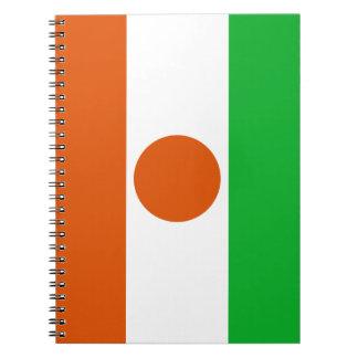 Niger Flag Notebook
