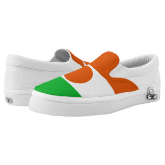 Niger Flag Printed Shoes