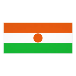 Niger Flag Rack Card