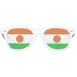 Niger Flag Retro Sunglasses