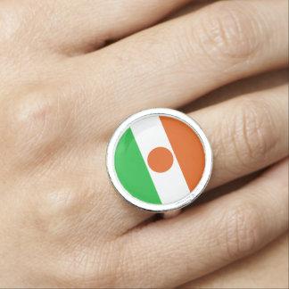 Niger Flag Ring