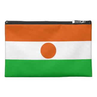 Niger Flag Travel Accessory Bag