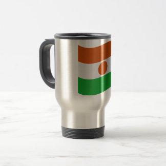 Niger Flag Travel Mug