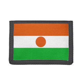 Niger Flag Trifold Wallet
