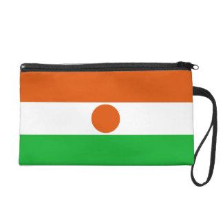 Niger Flag Wristlet