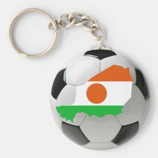 Niger football soccer key chain