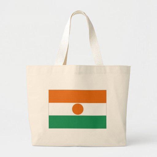 Niger National Flag Canvas Bag