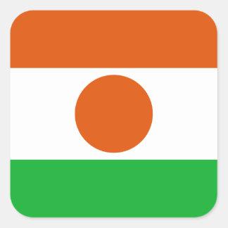Niger Square Sticker
