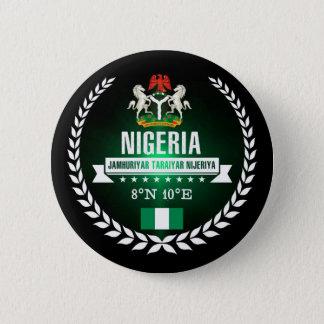 Nigeria 6 Cm Round Badge