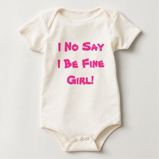 Nigeria Africa Baby Girl Style Baby Bodysuit