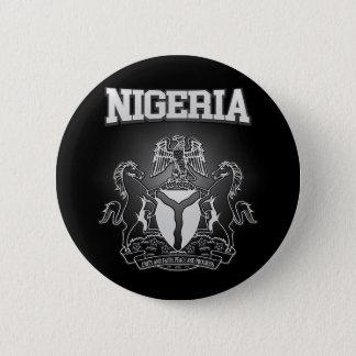 Nigeria Coat of Arms 6 Cm Round Badge