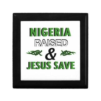 Nigeria design gift box