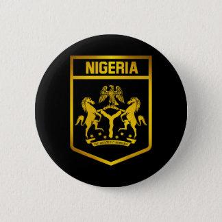 Nigeria Emblem 6 Cm Round Badge