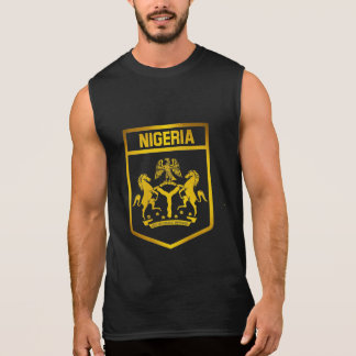 Nigeria Emblem Sleeveless Shirt