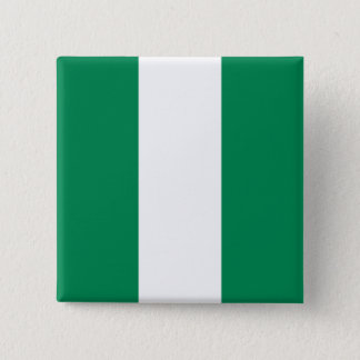 Nigeria Flag 15 Cm Square Badge