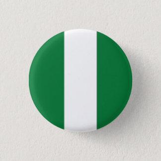 Nigeria Flag 3 Cm Round Badge