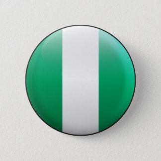 Nigeria Flag 6 Cm Round Badge
