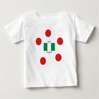 Nigeria Flag And Igbo Language Design Baby T-Shirt