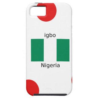 Nigeria Flag And Igbo Language Design iPhone 5 Case