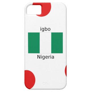 Nigeria Flag And Igbo Language Design iPhone 5 Cover