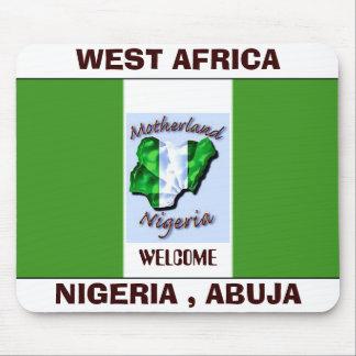 nigeria flag copy, NIGERIA TODAY copy, WEST AFR... Mouse Pad