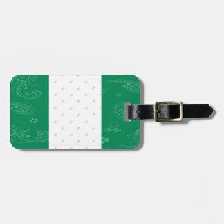 Nigeria Flag Luggage Tag