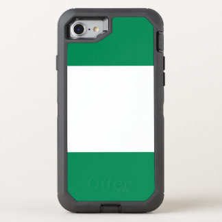 Nigeria Flag OtterBox Defender iPhone 8/7 Case