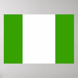 Nigeria Flag Poster