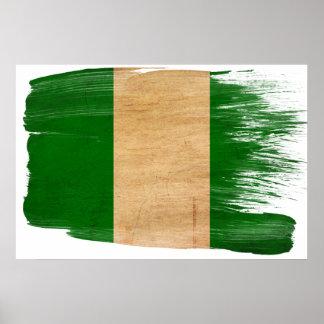 Nigeria Flag Posters