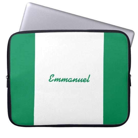 Nigeria flag sleeve