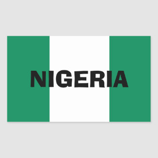 Nigeria* Flag Sticker