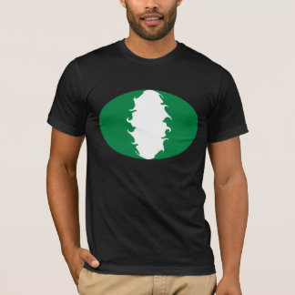 Nigeria Gnarly Flag T-Shirt