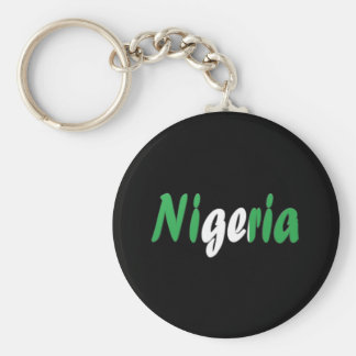 Nigeria Key Ring