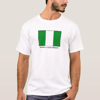 Nigeria Lagos LDS Mission T-Shirt